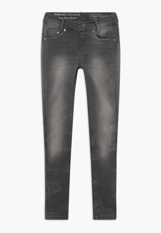 GIRLS  - Jeans Skinny Fit - black denim