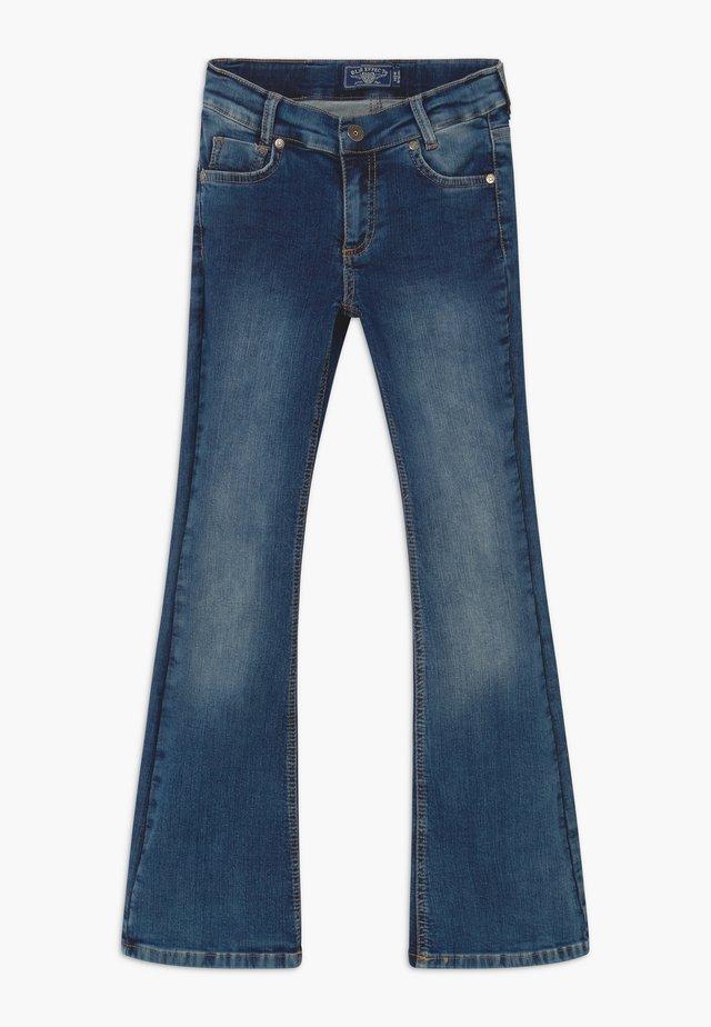 GIRLS FLARED - Jeans Bootcut - medium blue