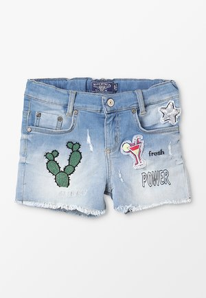 Jeans Short / cowboy shorts - light blue