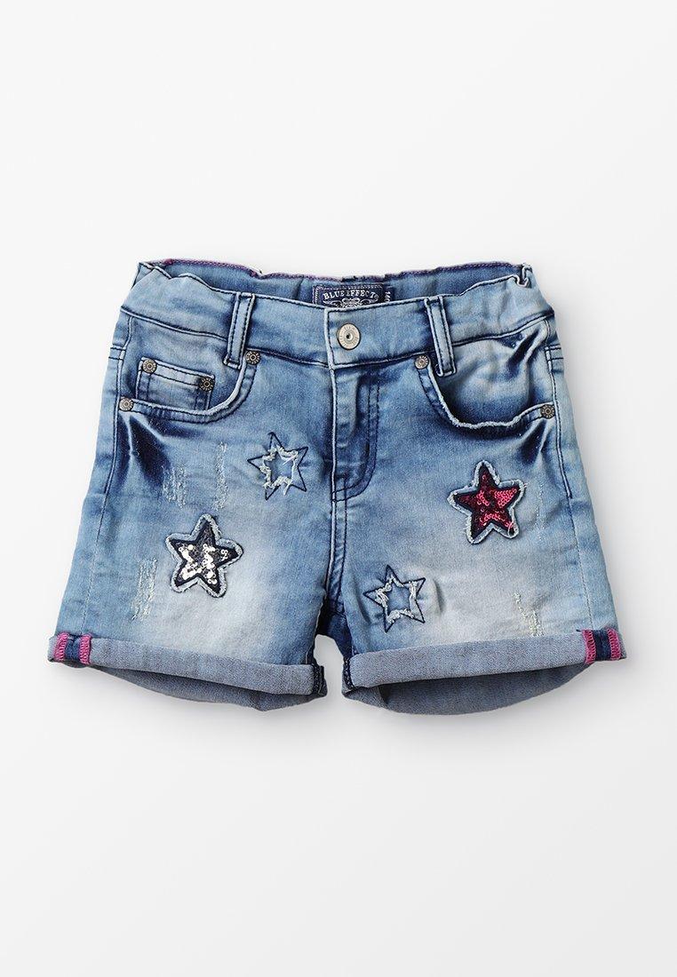 Blue Effect - GIRLS  - Jeans Shorts - light blue