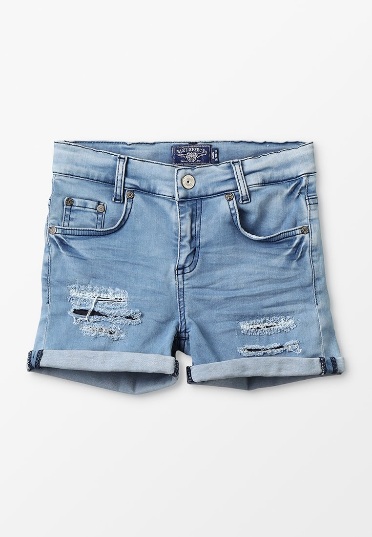 Blue Effect - GIRLS SHORT - Jeans Shorts - blue bleached washed