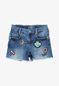 Blue Effect - GIRLS SHORT ARTWORKS - Jeans Short / cowboy shorts - blue medium - 3