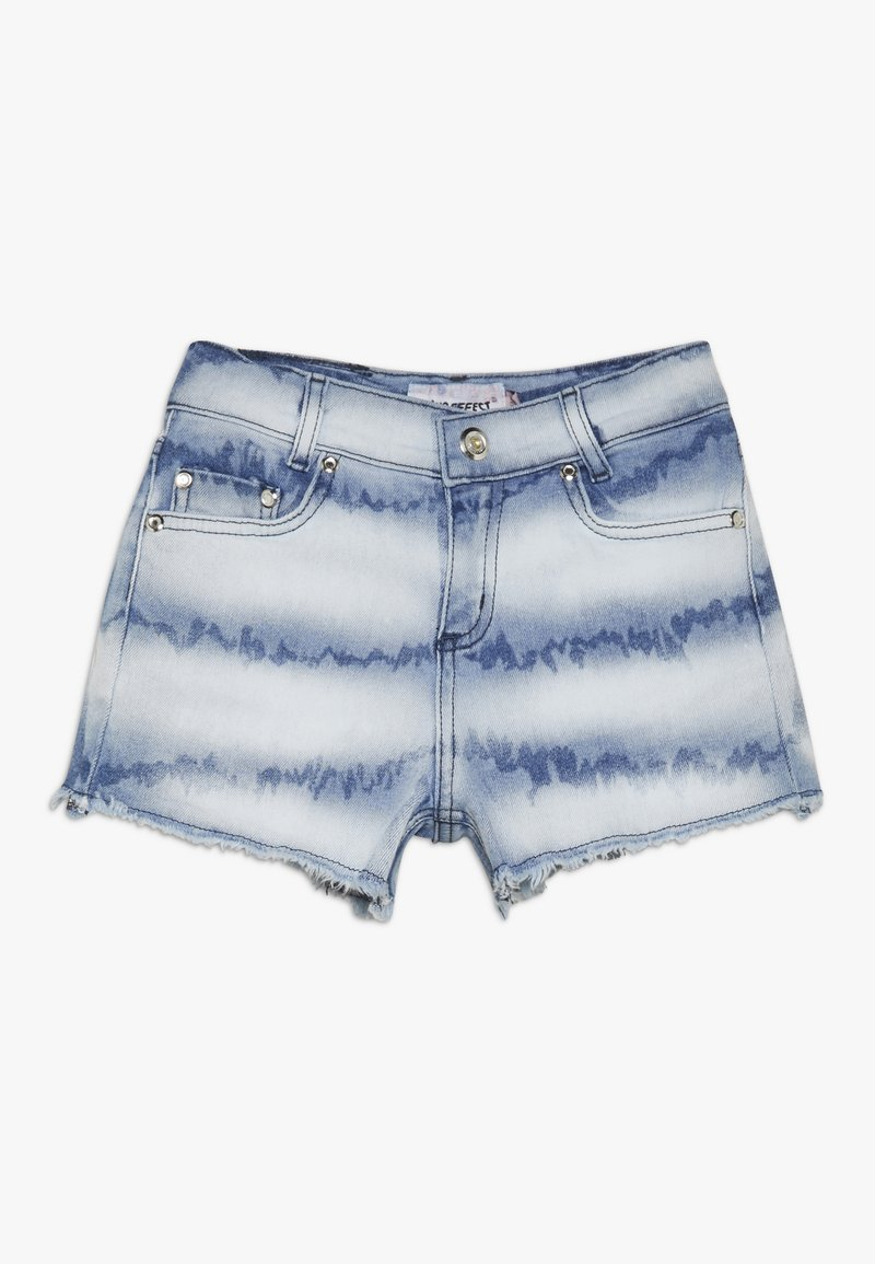 Blue Effect - GIRLS HIGH WAIST SHORT - Džínové kraťasy - denim