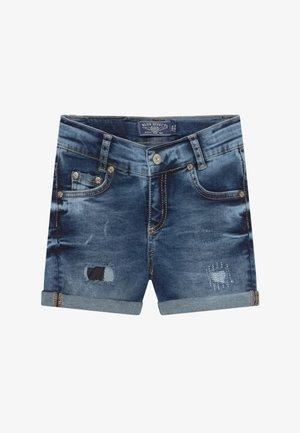 GIRLS HEAVY - Denim shorts - blue denim