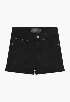 GIRLS BASIC - Jeansshort - schwarz reactive