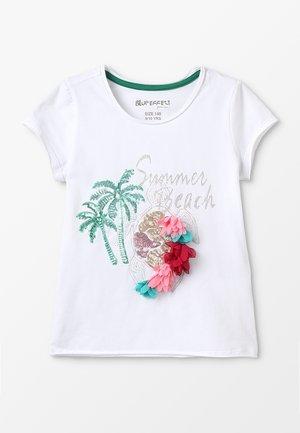 GIRLS MAKALAI BEACH - T-shirt con stampa - white