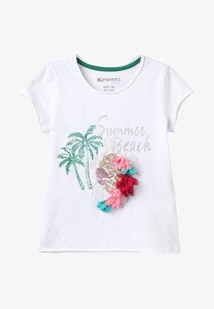 GIRLS MAKALAI BEACH - T-shirts print - white