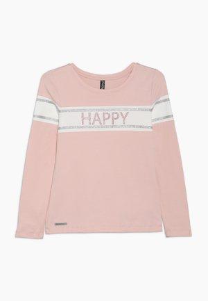 GIRLS LONGSLEEVE HAPPY - Longsleeve - winterrose reactive