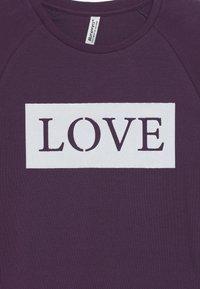 Blue Effect - GIRLS RINGEL LONGSLEEVE LOVE - Top sdlouhým rukávem - dunkel lila - 3