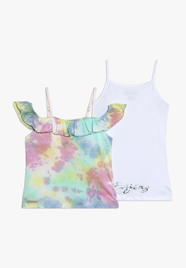 GIRLS DOPPEL ENJOY SET - T-shirt con stampa - pastel batik