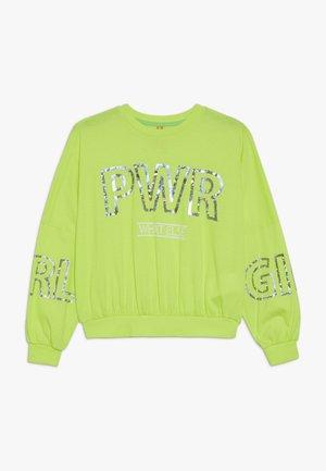 GIRLS - Långärmad tröja - neongelb