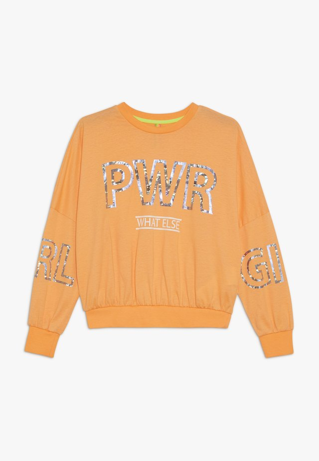 GIRLS - Longsleeve - neonorange