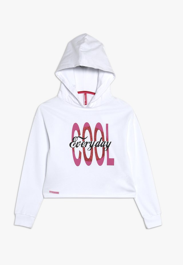 GIRLS BOXY HOODIE COOL EVERYDAY - Hoodie - schneeweiss reactive