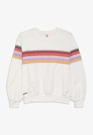 GIRLS STREIFEN PRINTS - Sweatshirt - creme reactive