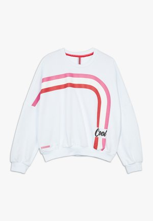 GIRLS BOXY COOL - Sweater - schneeweiss reactive