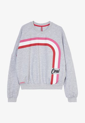 GIRLS BOXY COOL - Sweatshirt - hellgrau melange