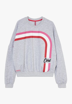 GIRLS BOXY COOL - Sweater - hellgrau melange