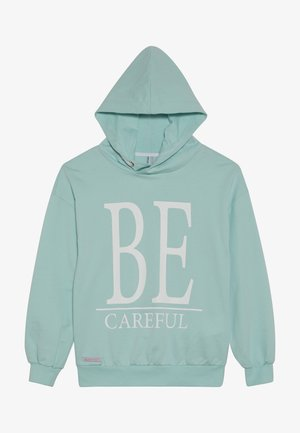 GIRLS HOODIE BE CAREFUL - Jersey con capucha - minze reactive