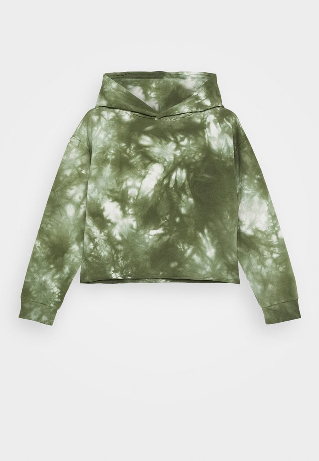 GIRLS BOXY HOODIE - Sweat à capuche - army green