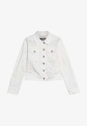 GIRLS JACKE - Veste en jean - weiß denim