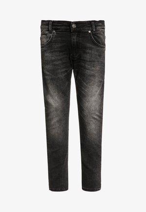 5 POCKET ULTRA - Jeans Skinny - black denim
