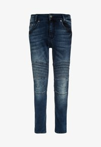 Blue Effect - BIKER - Vaqueros pitillo - blue denim - 0
