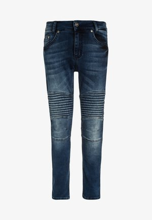 BIKER - Jeans Skinny Fit - blue denim