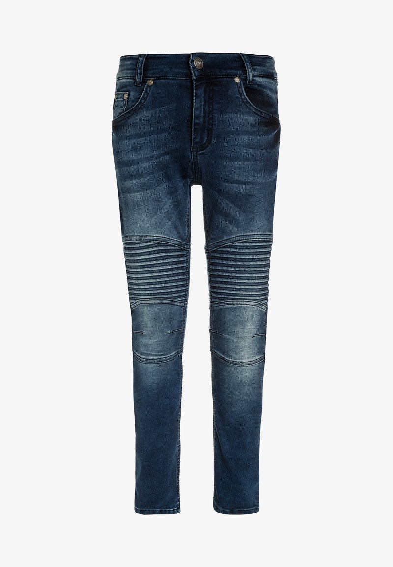 Blue Effect - BIKER - Vaqueros pitillo - blue denim
