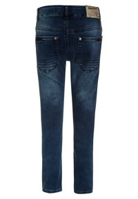 Blue Effect - BIKER - Vaqueros pitillo - blue denim - 1