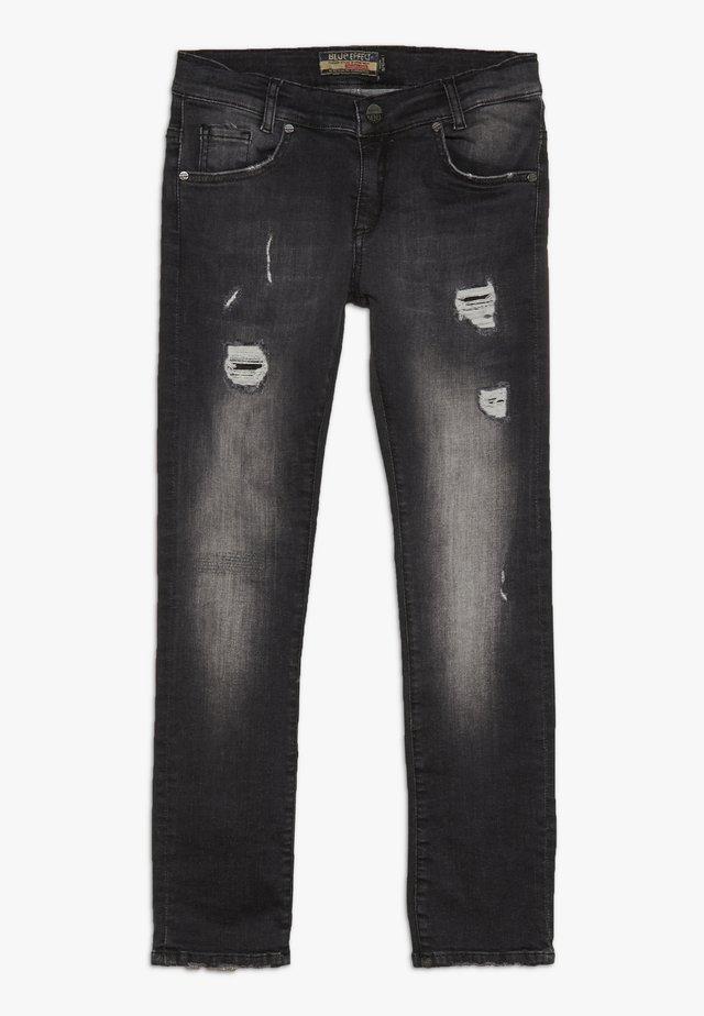 BOYS - Skinny džíny - black medium