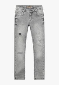 Blue Effect - BOYS HEAVY DESTROYED - Jeans Skinny - medium grey destroyed - 0