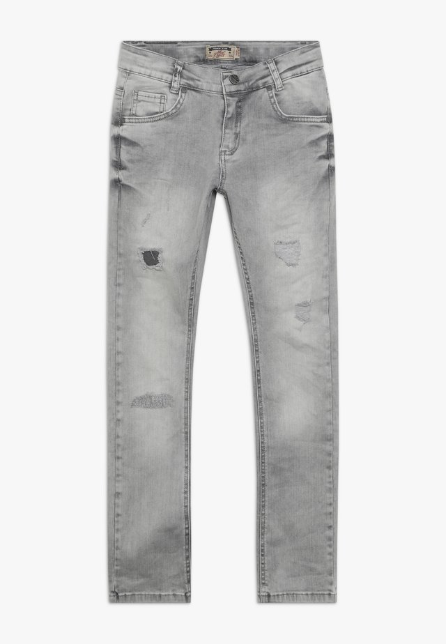 BOYS HEAVY DESTROYED - Jeans Skinny Fit - medium grey destroyed