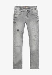Blue Effect - BOYS HEAVY DESTROYED - Jeans Skinny - medium grey destroyed - 2