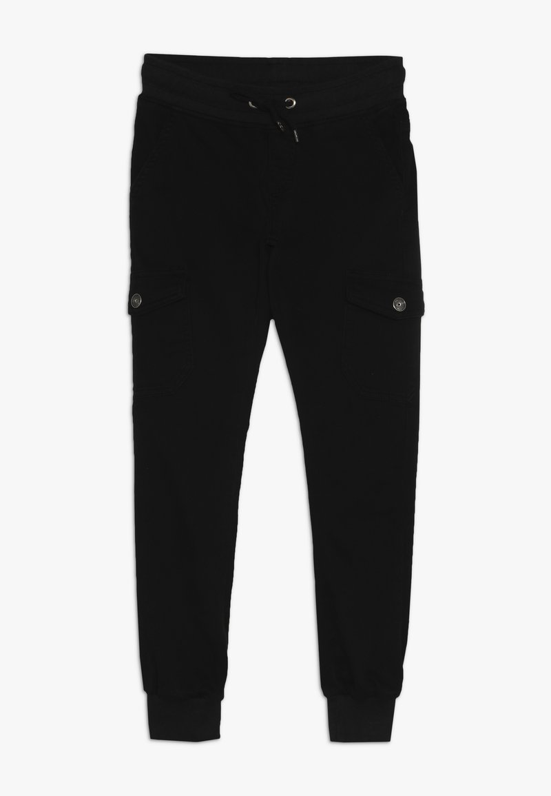 Blue Effect - BOYS JOGGPANT - Cargo trousers - schwarz antik