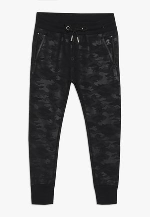 BOYS JOGGPANT - Trainingsbroek - schwarz