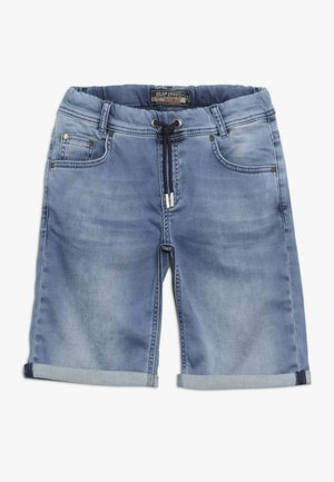 SHORT - Denim shorts - light blue