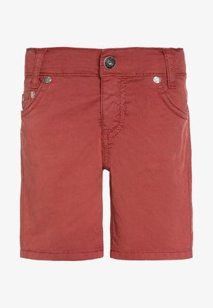 PAPERTOUCH - Shorts - mineralrot antik