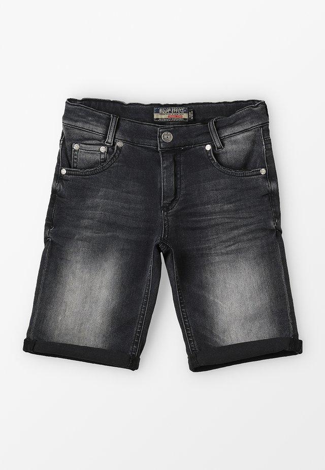 BOYS BASIC - Jeansshort - black medium