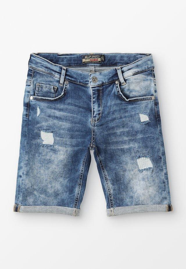 BOYS - Jeansshort - medium blue