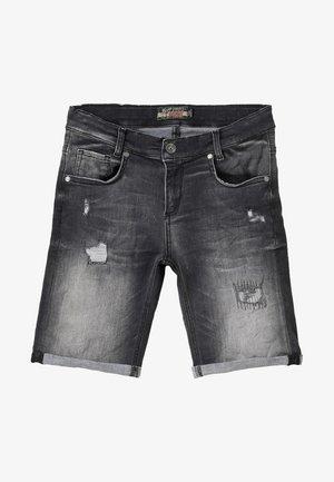 BOYS - Short en jean - black medium