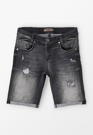 BOYS - Jeansshort - black medium