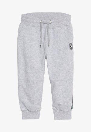 BOYS BIKER JOGGPANT STREIFEN - Teplákové kalhoty - hell grau melange