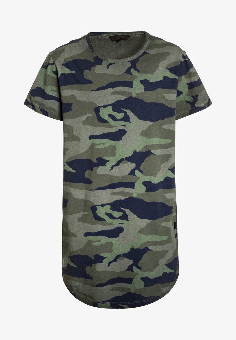 Blue Effect - LONG - T-Shirt print - khaki