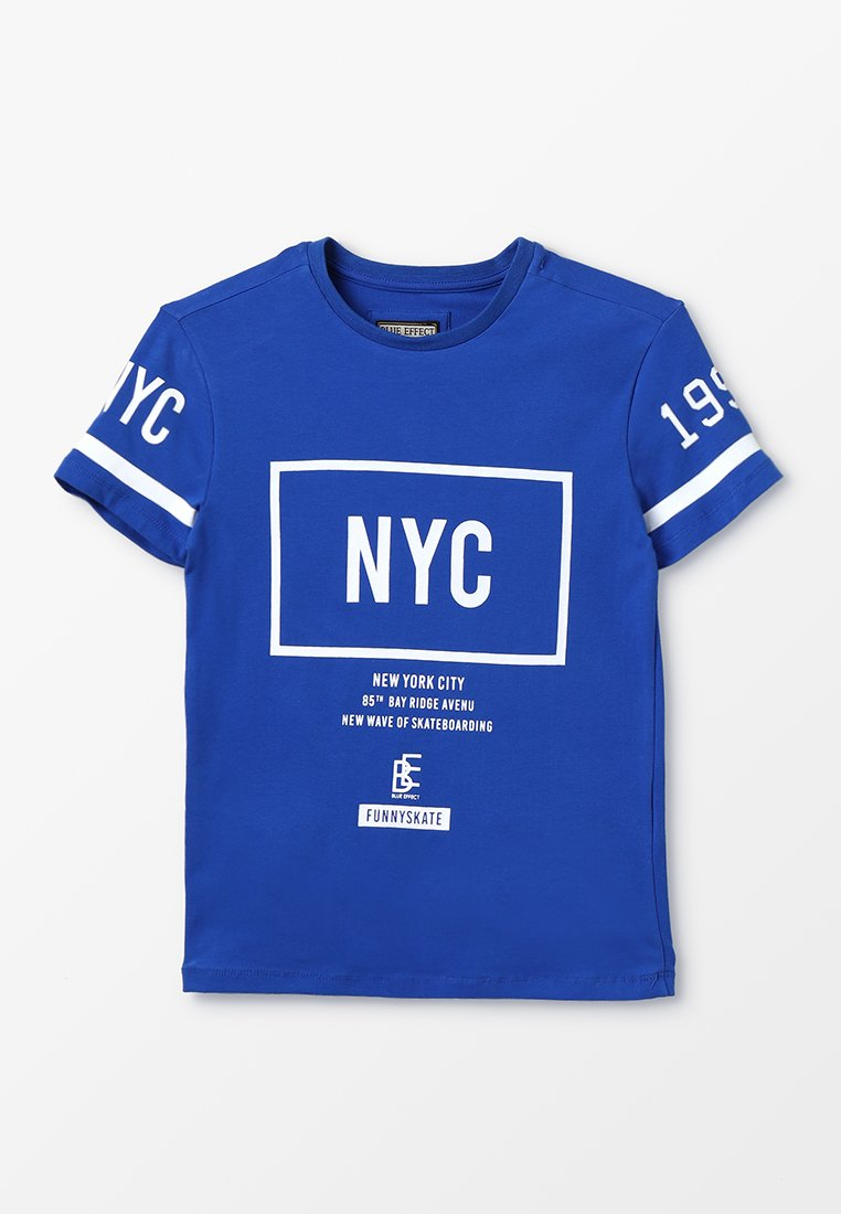 Blue Effect - BOYS NYC - T-shirts med print - königsblau reactive