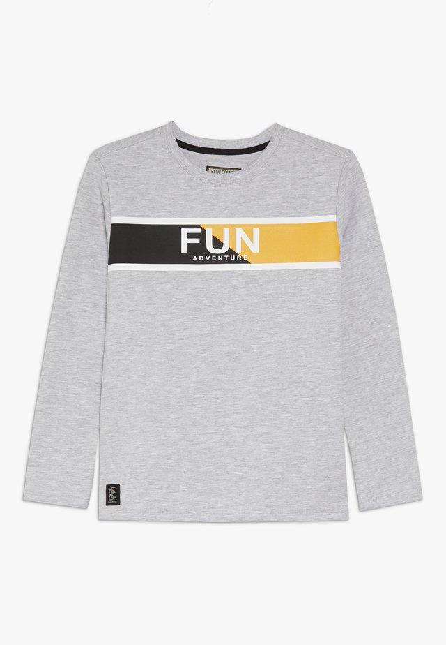 BOYS LONGSLEEVE FUN - Pitkähihainen paita - hellgrau melange
