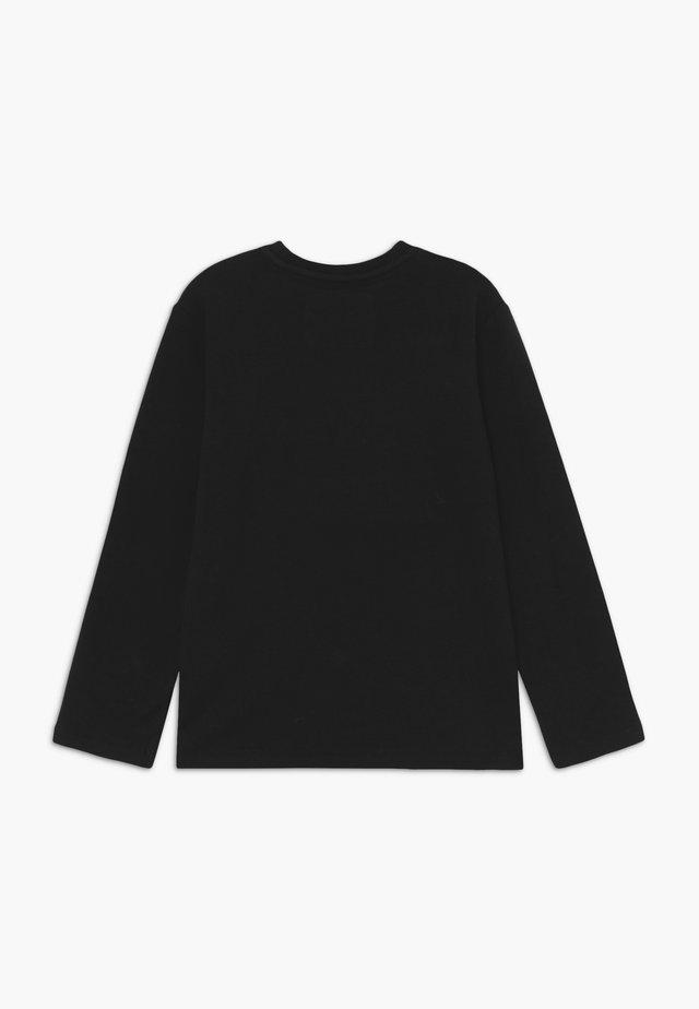 BOYS LONGSLEEVE FUN - Long sleeved top - schwarz