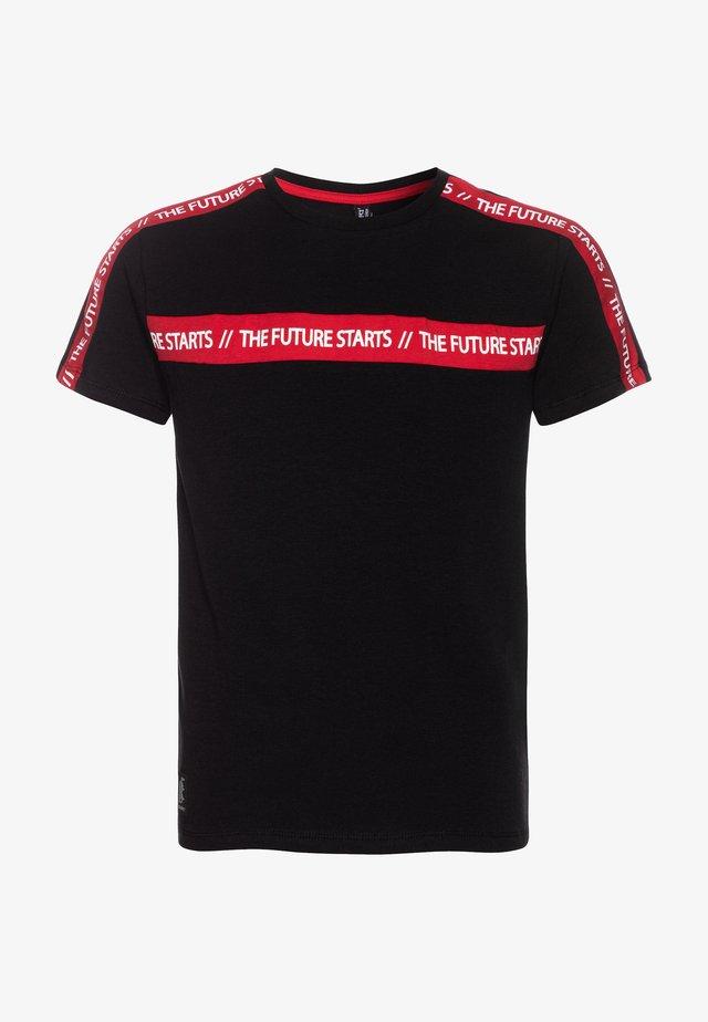 BOYS THE FUTURE STARTS  - T-shirt print - schwarz