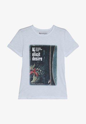 ELICIT DESIR - Print T-shirt - schneeweiß reactive