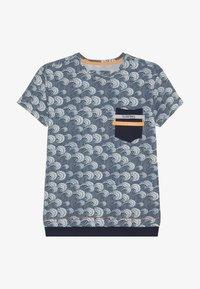 Blue Effect - BOYS WELLEN - T-shirt imprimé - blue - 2