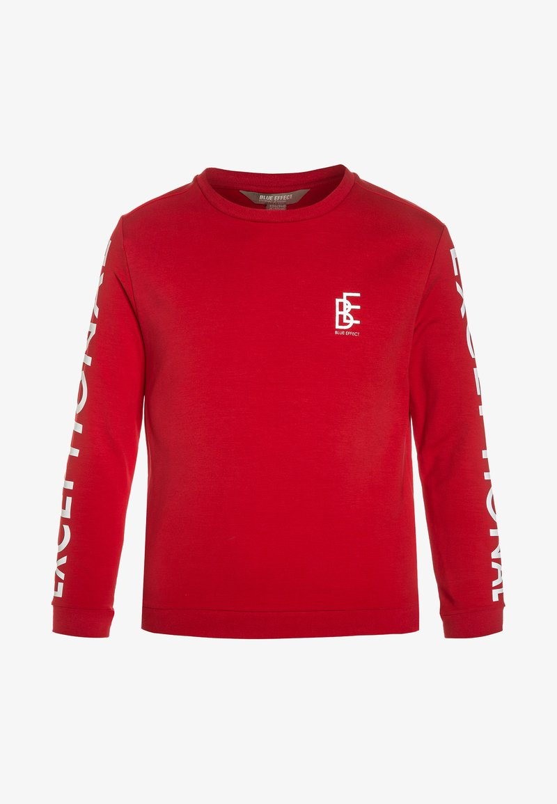 Blue Effect - Sweatshirts - feuerrot